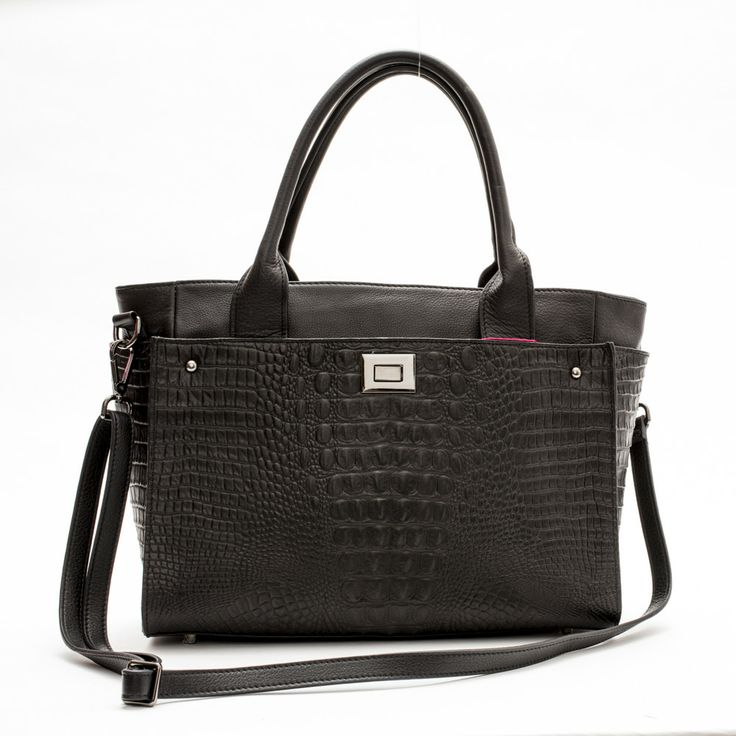 Sue Large Tote (Black) by Pink Corporation | ilovehandbags.com.au
