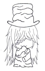 the undertaker fc the undertakerblack butlercolouringcoloring pageschibianime - Black Butler Chibi Coloring Pages