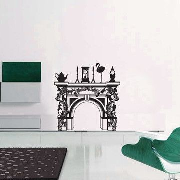 Fireplace Wall Decal 39x39 By Labyrinth Barcelona Part 83