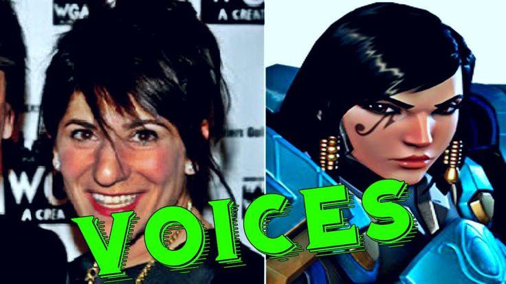 Pharah: All Voice Lines Overwatch - Voice Actors Overwatch Characters li...
