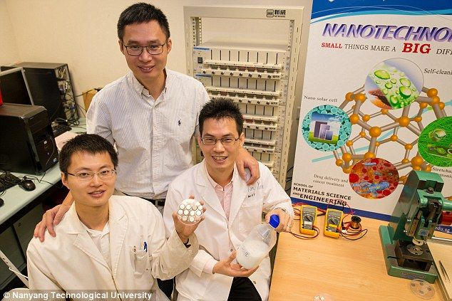 Singapore's Nanyang Technological University (NTU) scientists
