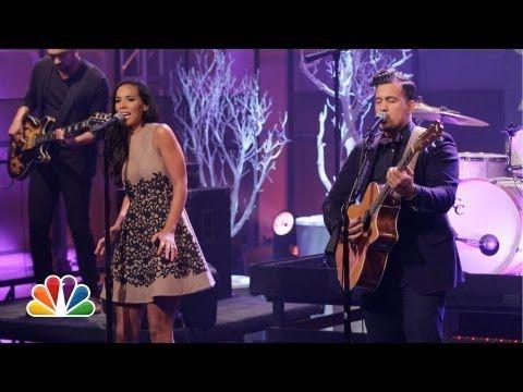 ▶ Johnnyswim 'Heart Beats' - The Tonight Show with Jay Leno - YouTube