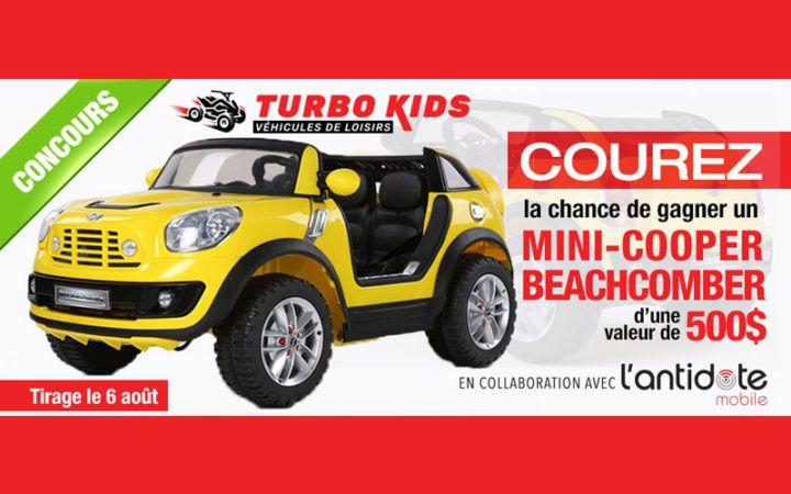 Véhicule électrique de loisir Mini-Cooper Beachcomber