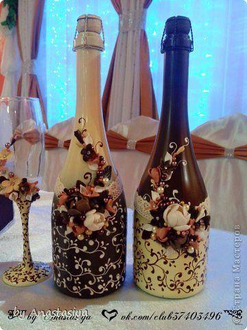 Декор предметов Свадьба Лепка Свадьба сестры в осенних цветах Фарфор холодный фото 8