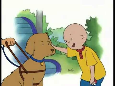 Caillou Videos Channel  - Caillou Dog with Jobs - YouTube