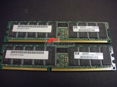 HP A8088B 2GB PC2100 DDR SDRAM (2X1GB DIMMS) MEMORY KIT