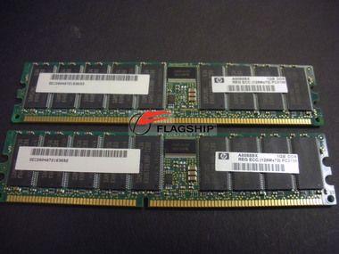 HP A8088B 2GB PC2100 DDR SDRAM (2X1GB DIMMS) MEMORY KIT