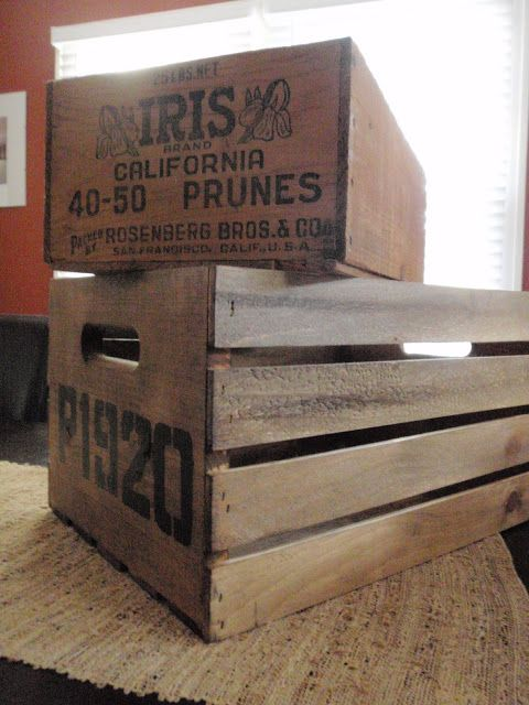 Hammers and High Heels: DIY Project: Vintage Inspired Crates!
