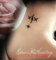 Rose Hathaway Tattoos, Vampire Academy