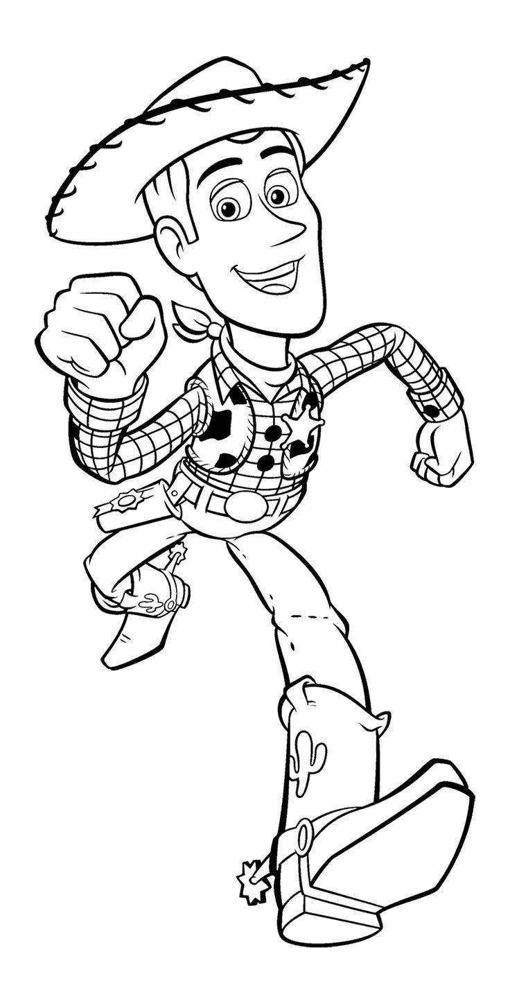 Printable Kid Coloring Pages Inspirational Toy Story Woody Runs Fast Coloring Page For Ki Toy Story Coloring Pages Disney Coloring Pages Cartoon Coloring Pages