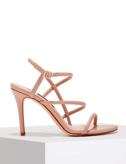 283387868d8c MERICIA Strappy Nude Dress Heel by Nine West