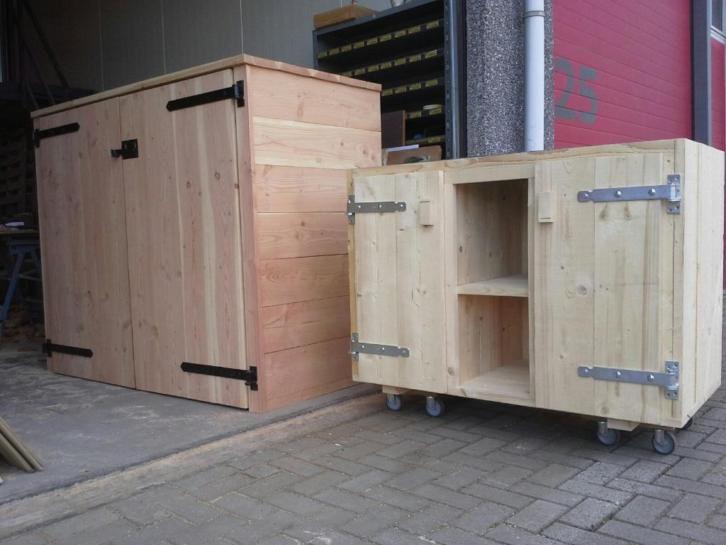 Buitenkast/tuinkast/steigerhout/bbq/kliko ombouw/kast/buiten