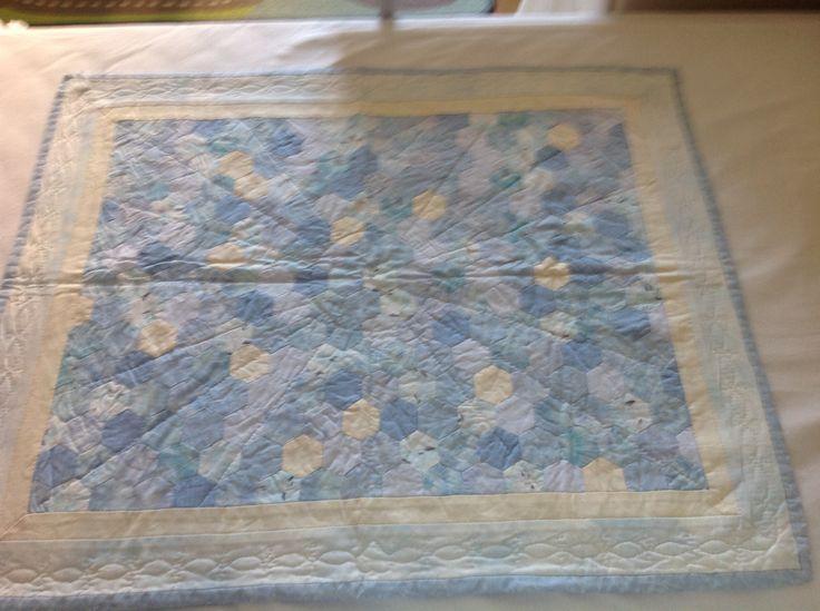 Eerste baby quilt gemaakt voor Afonso 2006