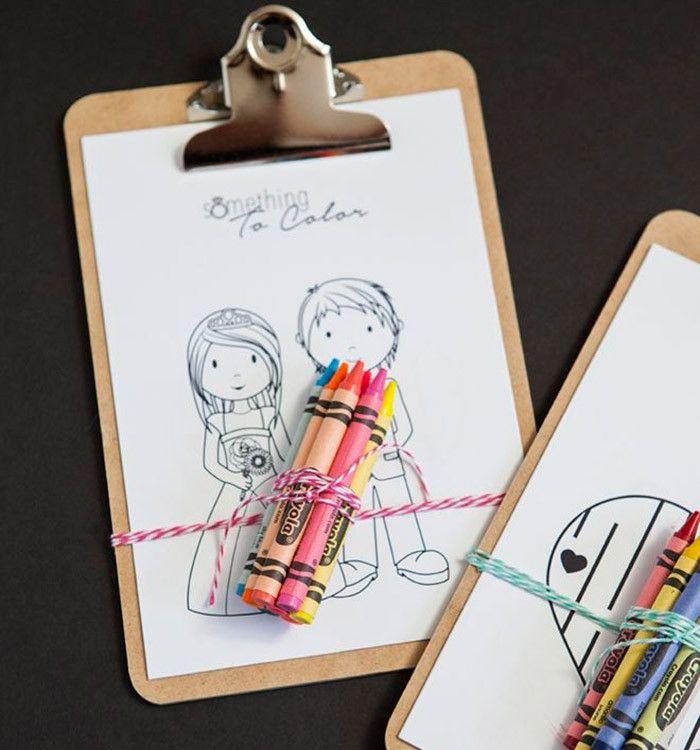 Des idées pour amuser les enfants à un mariage - Mlle Bride