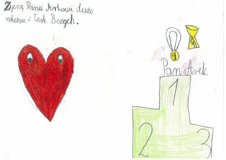 Laurki dzieci / Cards made by kids