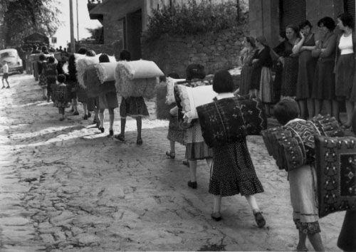 Metsovo Marriage, (bride's dowry) Costas Balafas (1920 - 2011)