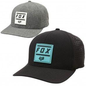 quality design 04f8b 77735 Fox Racing Listless Mens Caps Motocross Off Road Dirt Bike Flexfit Hats