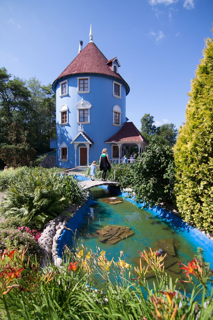 Moomin House, Naantali, Finland ✯ ωнιмѕу ѕαη∂у
