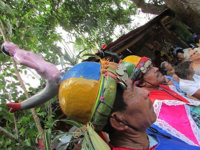Historiante, Festival de la Palmas el primer domingo de mayo. Panchimalco, El Salvador. Foto: Paty Silva