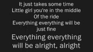 Jimmy Eat World - The Middle - Lyrics, via YouTube.