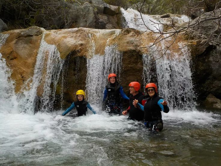 Canyoning in Rikavac Canyon on the Active Family Montenegro Holiday.