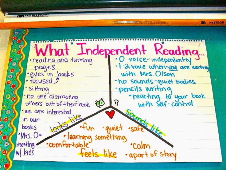 Also anchor charts that can be used during Reader's Workshop Launch