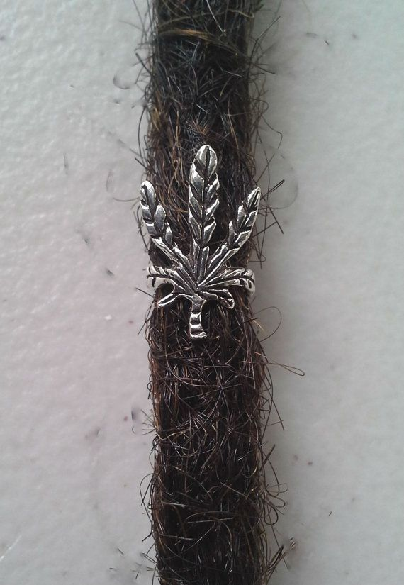 Sterling Silver Dreadlock happy leaf charm   by Dreadscapes, $9.50 :: #dreadstop