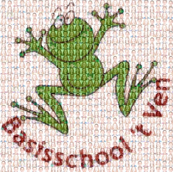 Afscheid nemen op de basisschool is een belangrijk moment. Dit gebeurd meestal in groep 8 met een afsluitend kamp of een afsluitende musical.  Wat is er nu leuker om een leraar één kado te geven waarin alle kinderen van zijn basisschool op staan. En dat in de vorm van zijn gezicht of het logo van de school.    http://www.mozaikfoto.nl/fotokadoschool/  wel prijzig