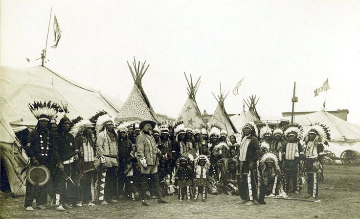 Buffalo Bill Cody and the Wild West Show competed with the worlds fair