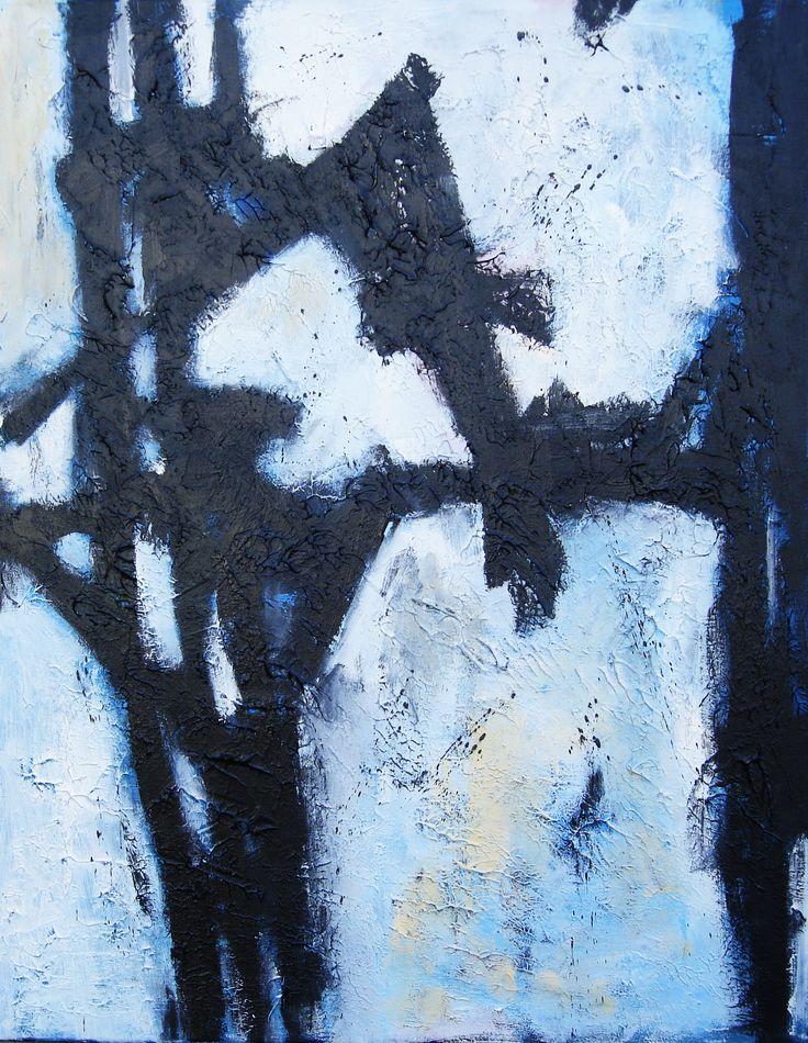 70 x100 cm Abstract Art by Paul Smidt  www.paulsmidt.nl www.facebook.com/paulsmidtschilderkunst