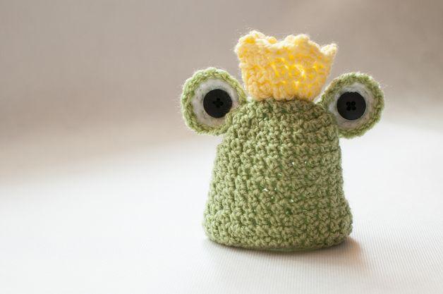 Newborn frog hat