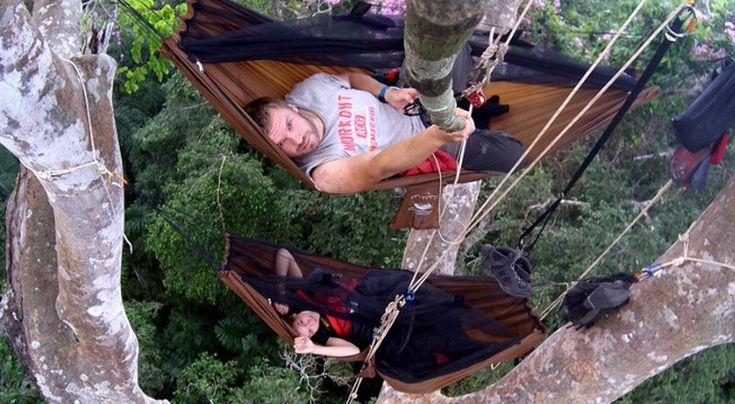 Tak wygląda nocleg na drzewie w sercu dżungli * * * * * * www.polskieradio.pl YOU TUBE www.youtube.com/user/polskieradiopl FACEBOOK www.facebook.com/polskieradiopl?ref=hl INSTAGRAM www.instagram.com/polskieradio