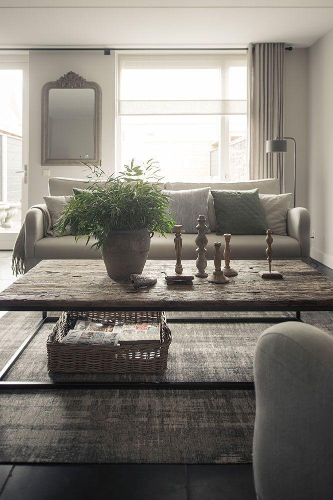 Inside Design Salontafel.Hoffz Interieur Salontafel Oude Wagondelen Home Decor Living