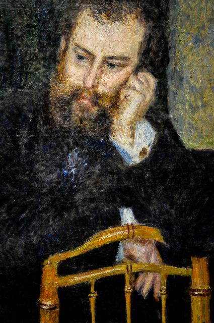 Pierre Auguste Renoir - Alfred Sisley, 1876 at Art Institute of Chicago IL | Flickr - Photo Sharing!