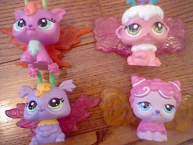 These are all of my glow faries!!!!! you can find them at any toy store!