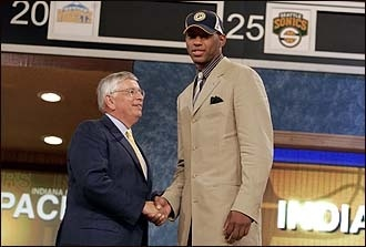 Danny Granger selected by the Indiana Pacers with the 17th pick in the 2005 NBA Draft.