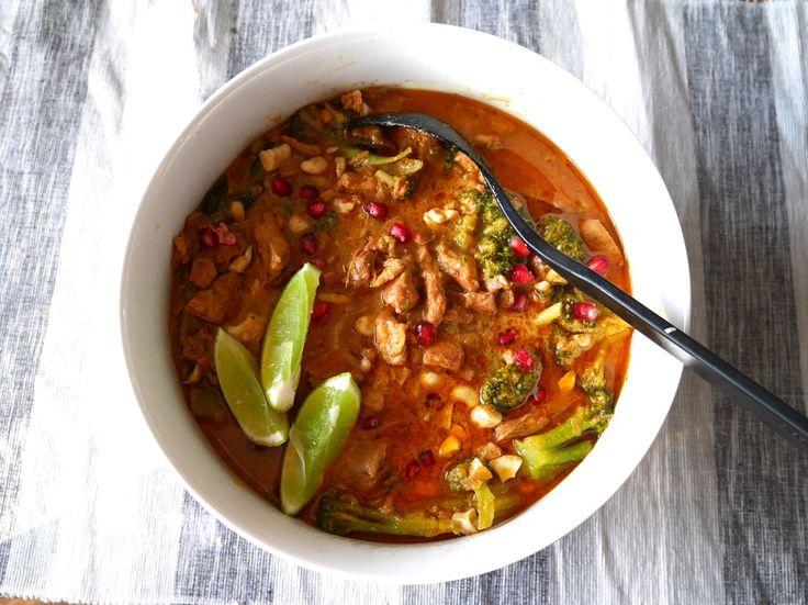 Massaman curry i Crock-Pot