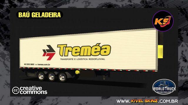 Bau Geladeira Tremea Transportes Em 2020 Com Imagens Truck