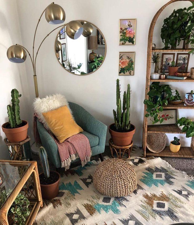 Interior Design Home Decor Bohemian Style Eclectic Indoor