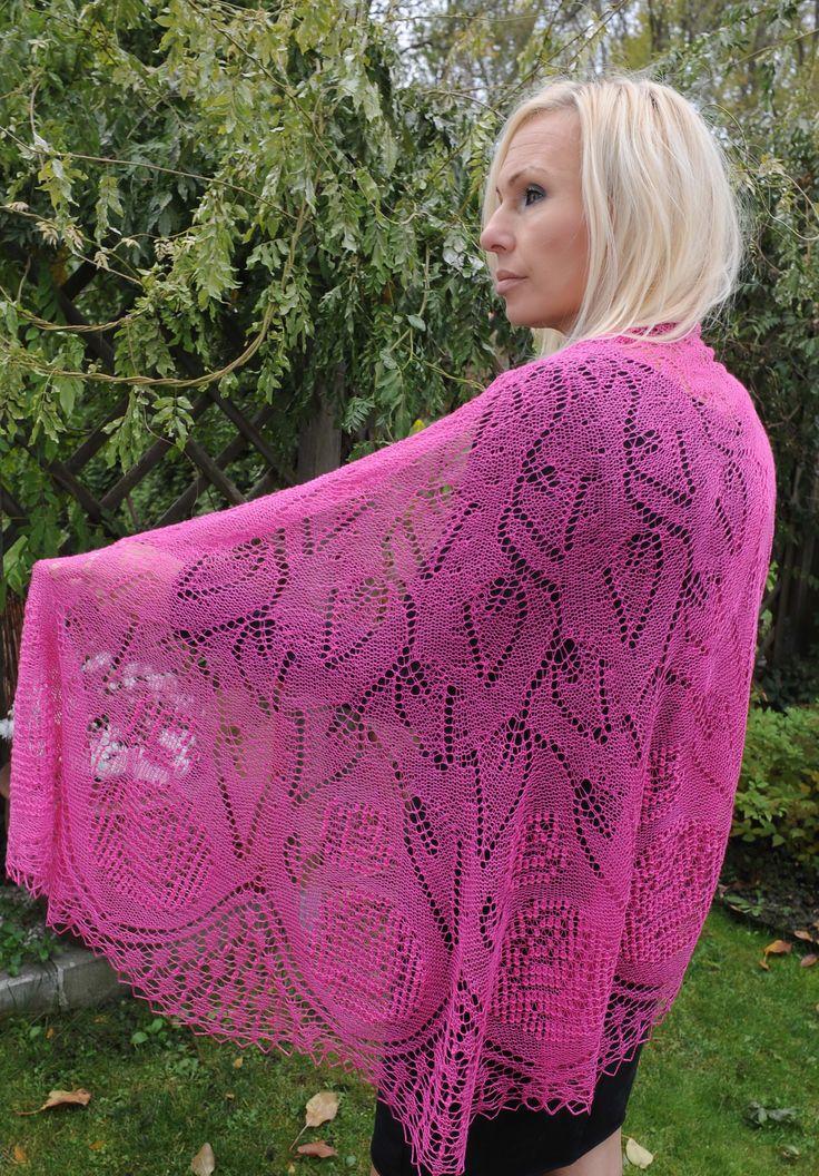 handmade silk shawl