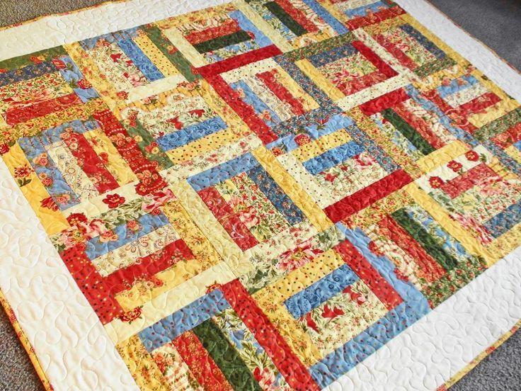 Quilt Patterns Using 6 Strips : Strip Box Quilt Pattern UX/UI Designer, Quilt designs and Quilt