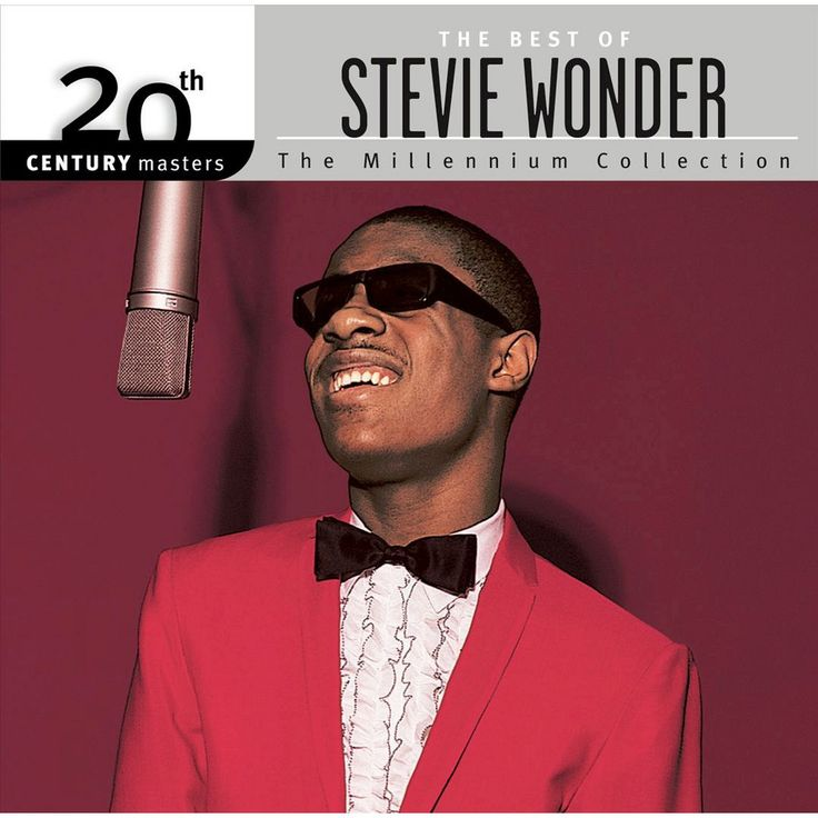 Stevie Wonder - 20th Century Masters - The Millennium Collection: The Best of Stevie Wonder (CD)