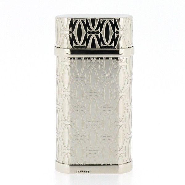【中古】Cartier(カルティエ) CA120134 2Cモチーフ パラジウム フィニッシュ シルバー ライター/新品同様・極美品・美品の中古ブランドライターを格安で提供いたします。/¥59,800
