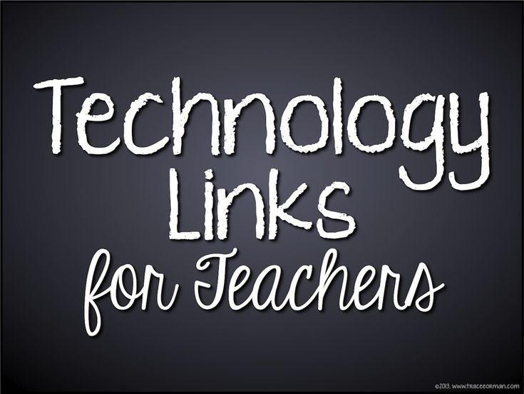 Tons of technology links & resources for educators. Whether your students have laptops/tablets or not, you can still incorporate technology into your curriculum to prepare them for the digital world.