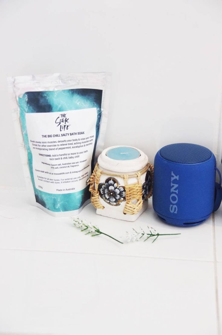 Do you want something to give you #soft #skin? Something made from #Bondi #Beach in Sydney, you have to check out these #bathsalts. #portable speaker #sony #candle #tropical #instagram #post #blog #travel #fashion #lifestyle