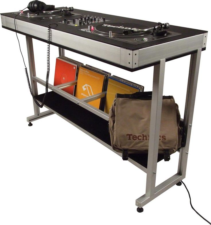 DEX DEX-2TS DJ TURNTABLE STAND