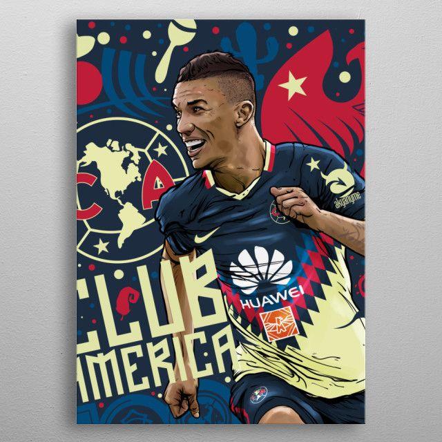 ae293a2aa4c Mateus Uribe Vamos America by akyanyme dotcom   metal posters   Club ...