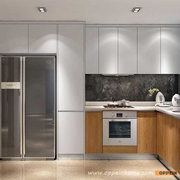Modern Wood Grain Kitchen Cabinets Http Www Otoseriilan Com Modern Kitchen Cabinet Design Modern Kitchen Cupboards Kitchen Cupboard Designs