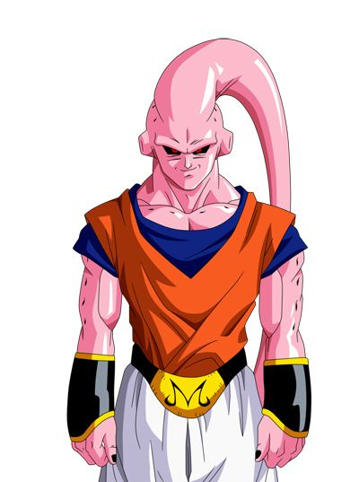 17 best images about majin buu on pinterest cartoon pics goku and removable wall stickers - Bou dragon ball z ...