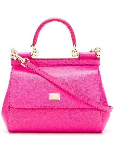 e6a71e1815 Dolce   Gabbana Small Sicily Shoulder Bag - Farfetch